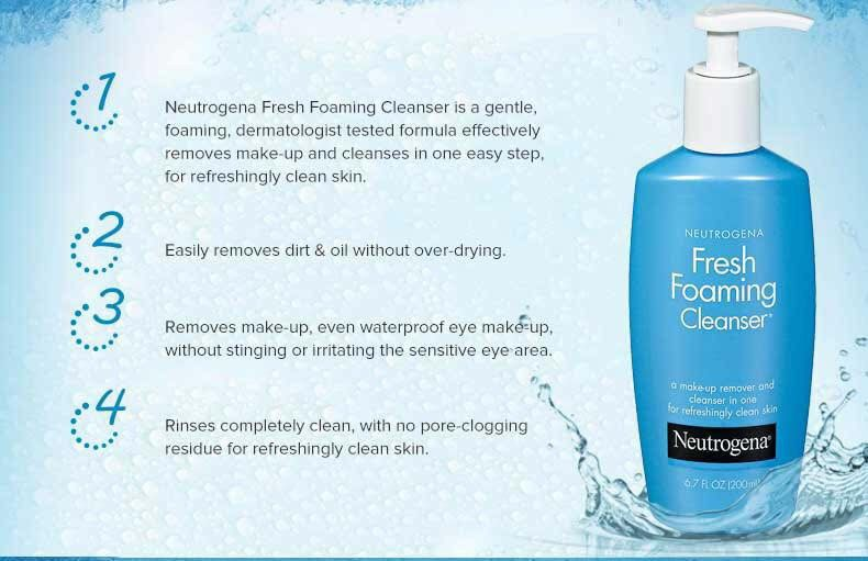sữa rửa mặt neutrogena fresh foaming cleanser 2