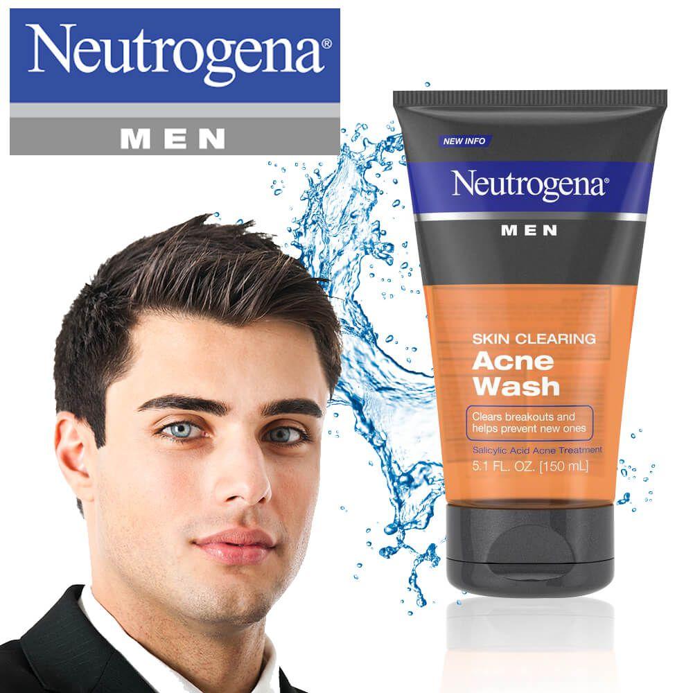 Sữa rửa mặt Neutrogena cho nam
