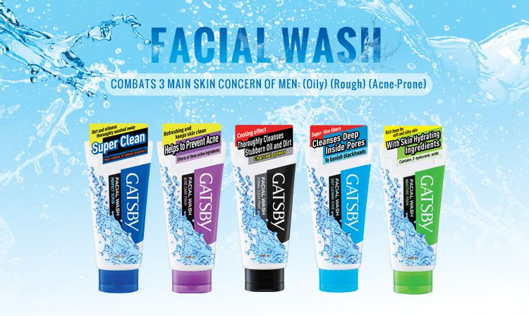 Sữa rửa mặt cho nam Gatsby Acne Care Foam dành cho da mụn (vỏ màu tím)