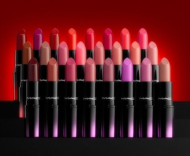 Trọn bộ 24 cây son trong bộ sưu tập Mac Love Me Lipstick