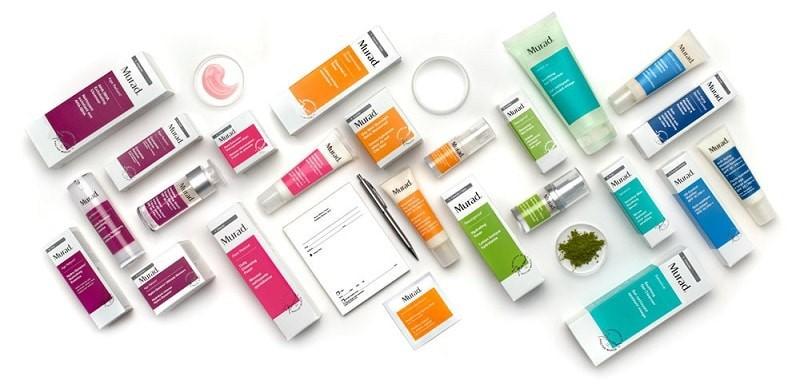 Thương hiệu Murad với đa dạng các sản phẩm dược mỹ phẩm