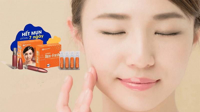 xịt lợi khuẩn skin fresh
