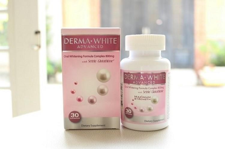 Viên uống chống nắng Derma White Advanced