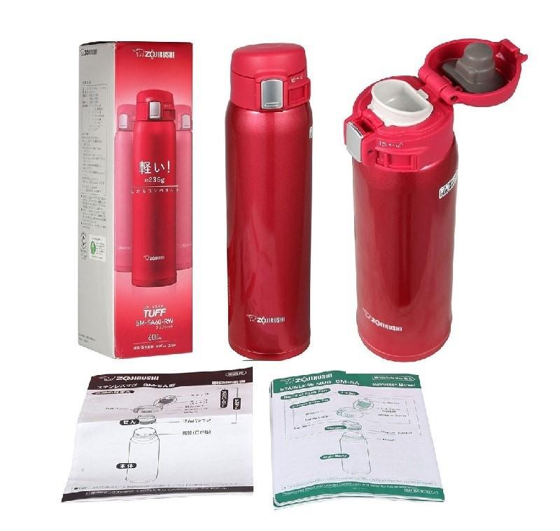 Bình giữ nhiệt 600ml Zojirushi ZOBL-SM-SA60-RW nóng lạnh
