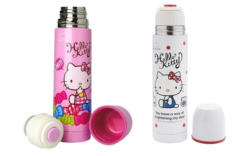 Bình giữ nhiệt Hello Kitty có nhiều mẫu mã để bạn lựa chọn