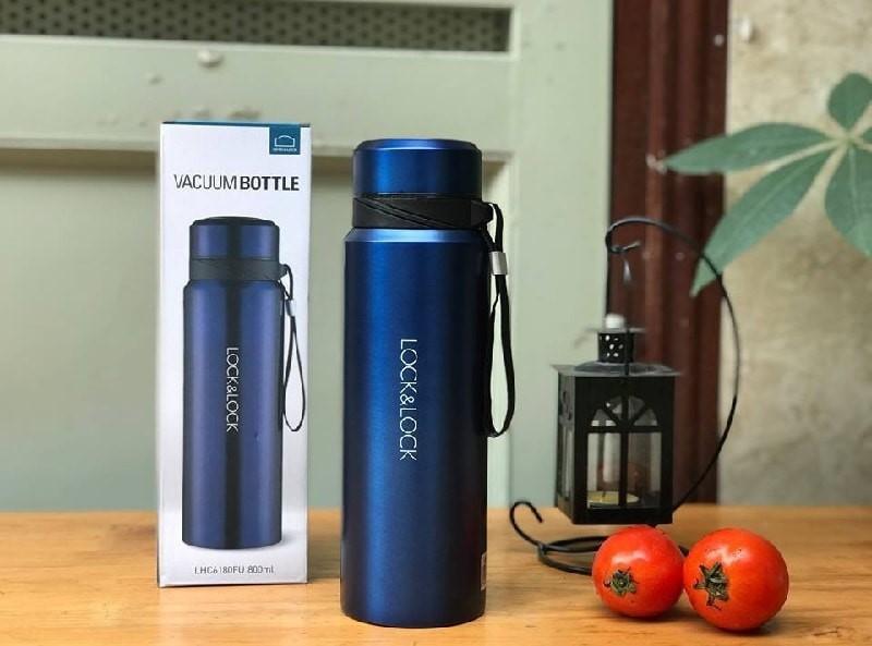 Bình giữ nhiệt bằng thép không gỉ Vacuum Bottle Lock&Lock 800ml