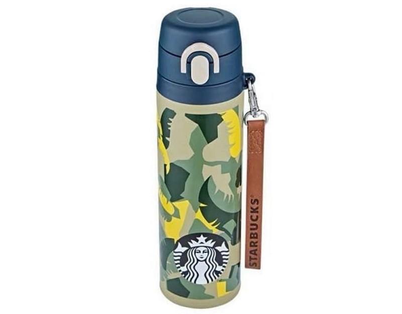 """Bình giữ nhiệt Starbucks """"Let's go camping"""" 550ml - phiên bản Hàn Quốc"""