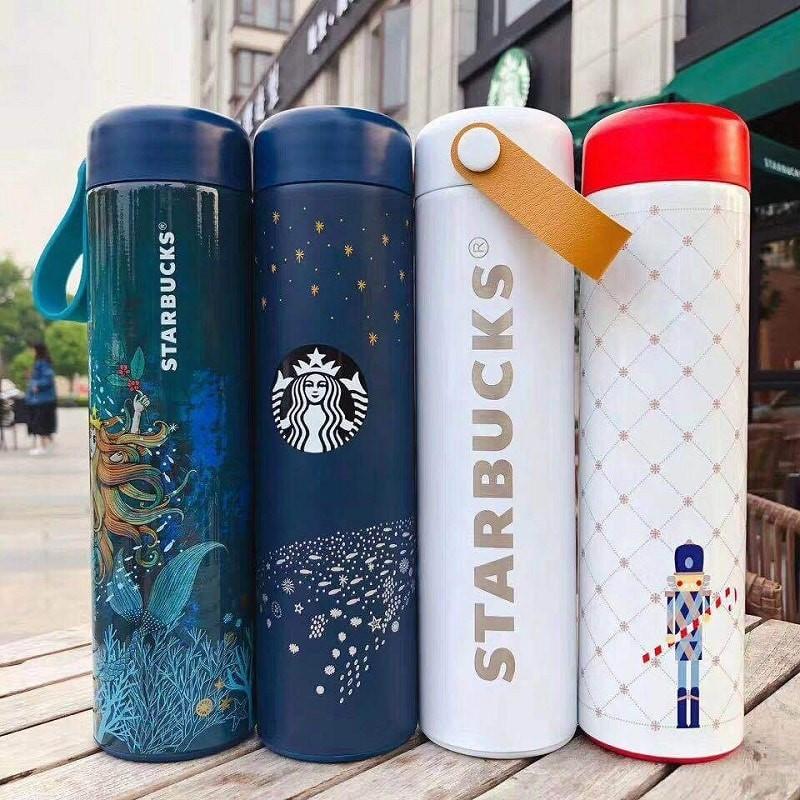 Bình giữ nhiệt Starbucks với nhiều thiết kế mới mẻcho giới trẻ
