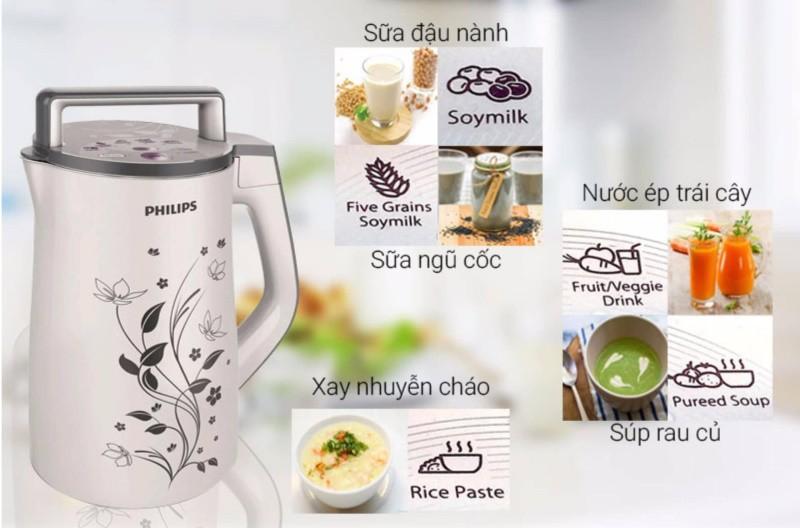 Máy làm sữa đậu nành Philips có tốt không?