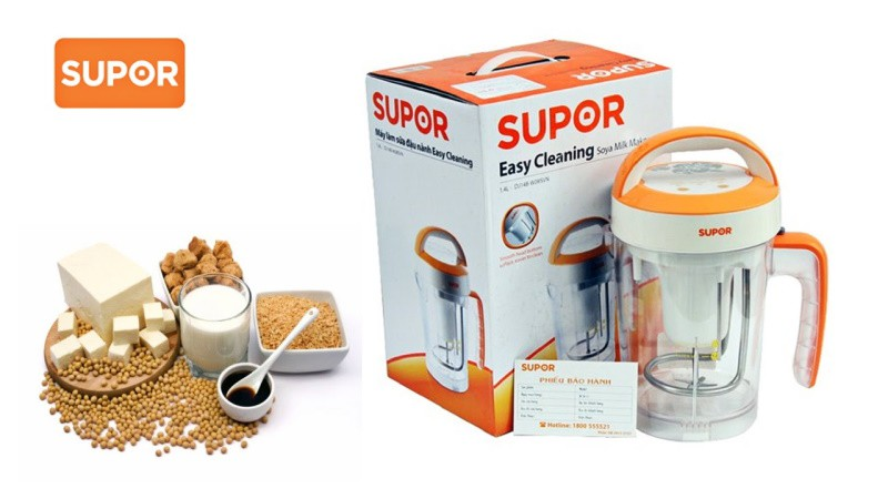 Máy làm sữa đậu nành Supor có tốt không?