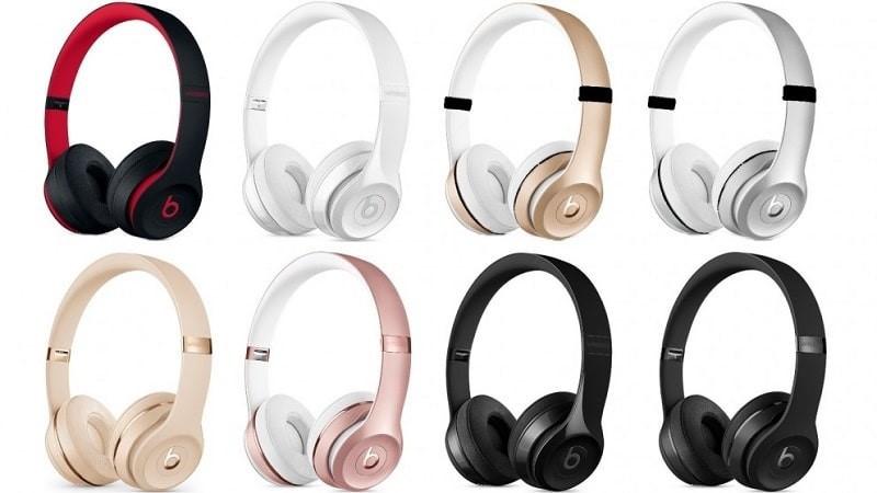 Tai nghe chụp tai Beats Solo 3 Wireless có nhiều lựa chọn về màu sắc
