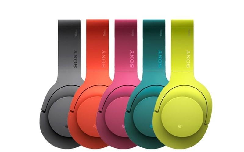 Tai nghe chụp tai Bluetooth Sony MDR-100ABN với những gam màu rực rỡ