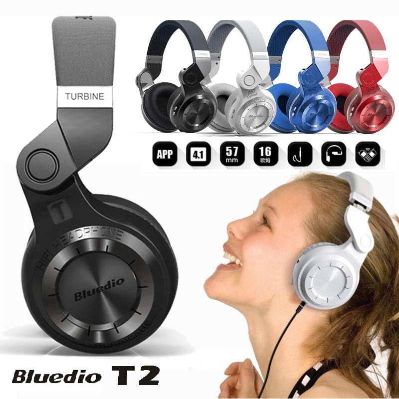 Tai nghe chụp tai bluetooth không dây Bluedio Turbine T2