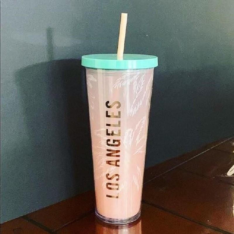 Ly giữ nhiệt Starbucks Venti Coldcup 710ml - nhiều màu