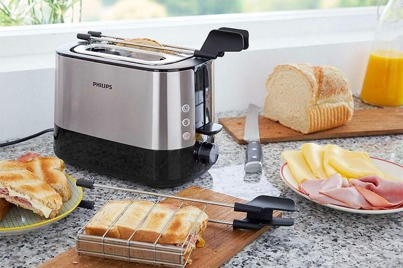 Máy nướng bánh mì sandwich Philips HD2637