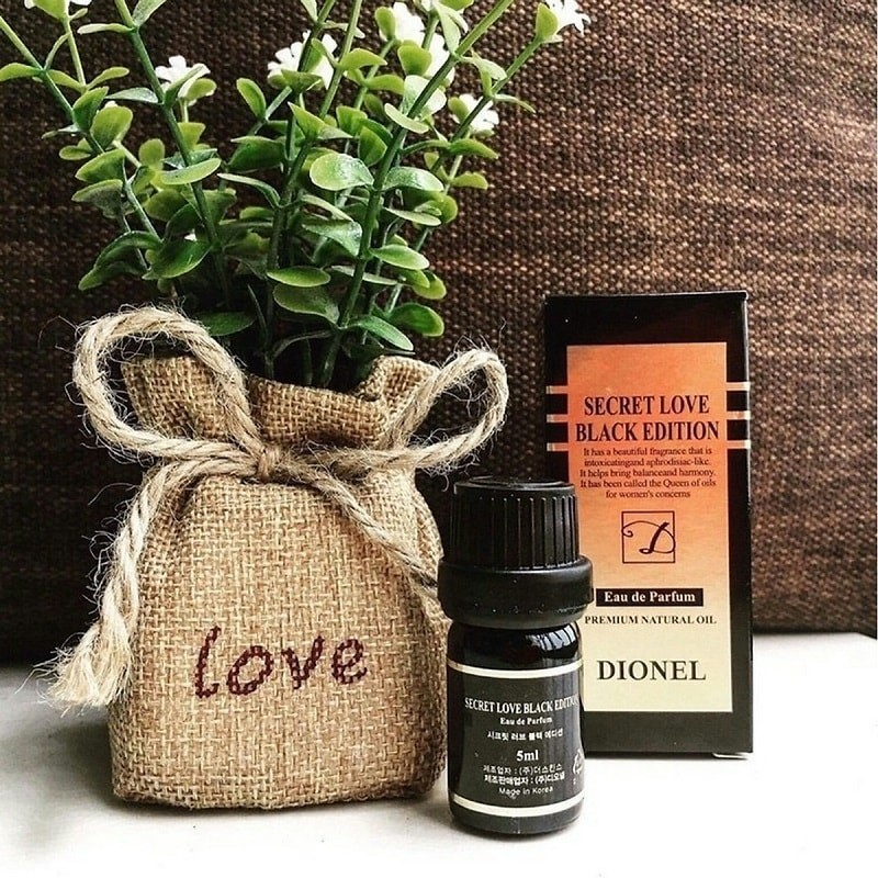 Nước hoa vùng kín Dionel Đen - Secret Love Black Edition