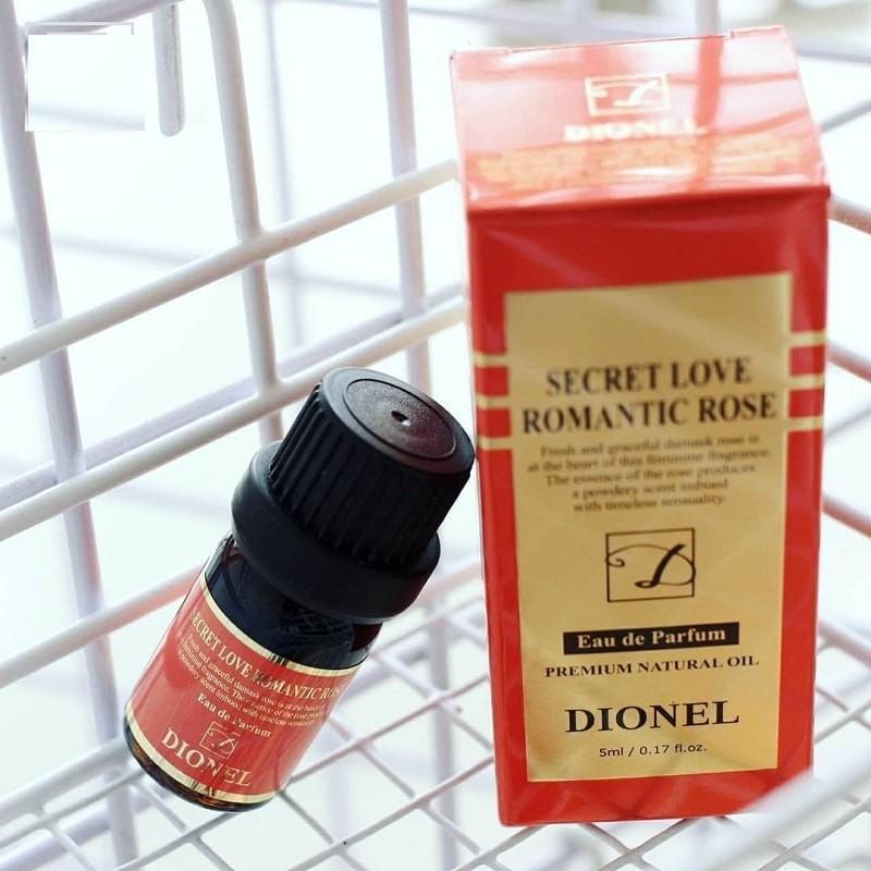 Nước hoa vùng kín Dionel Đỏ Secret Love Romantic Rose chính hãng