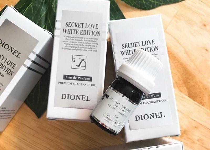 Nước hoa vùng kín Dionel Trắng Secret Love White Edition chính hãng