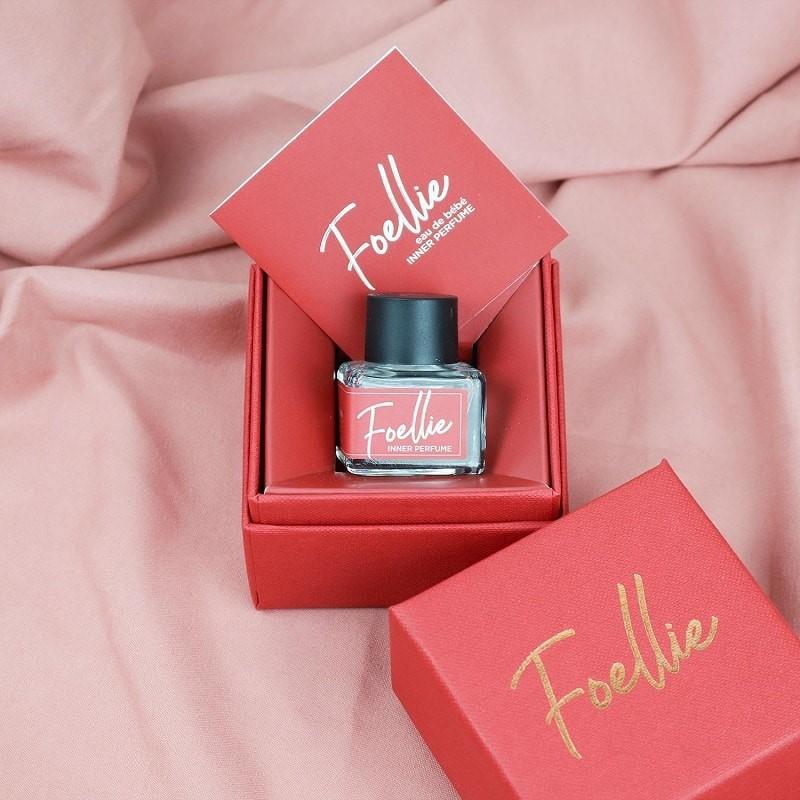 Nước hoa vùng kín Foellie Eau De Bébe màu đỏ