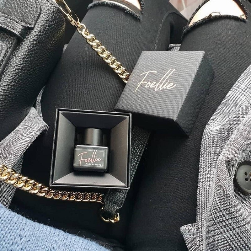Nước hoa vùng kín Foellie Eau De Bijou phiên bản màu đen