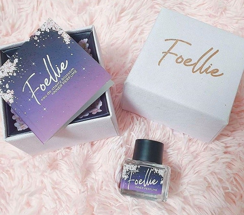 Nước hoa vùng kín Foellie Inner Perfume - Eau de Cherry Blossom Hàn Quốc