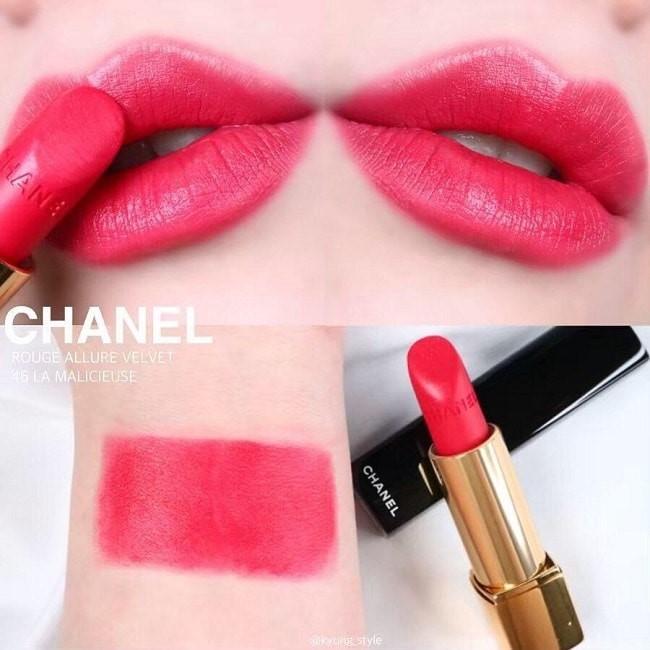 Son Chanel 46 La Malicieuse Rouge Allure Velvet