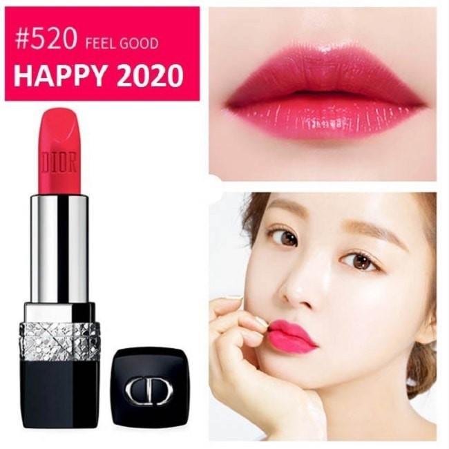 Son Dior Rouge 520 Feel Good Happy 2020 là phiên bản giới hạn