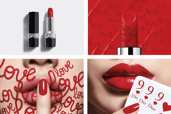Son Rouge Dior 999 - Valentine's Day Limited Edition
