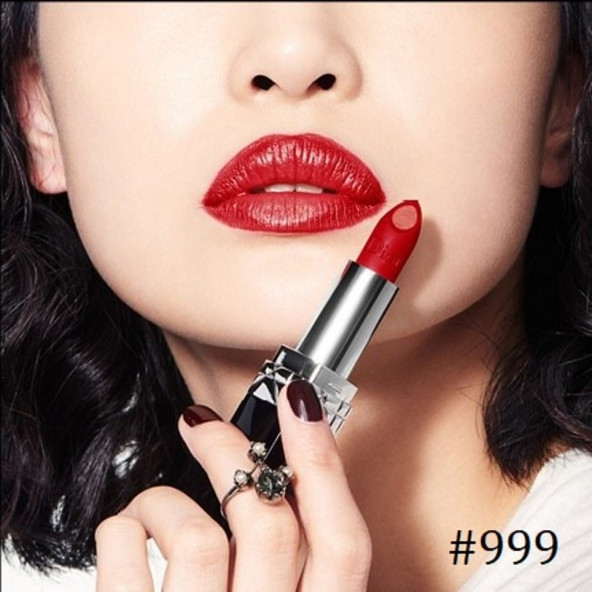 Rouge Dior Double Rouge 999 Matte Metal