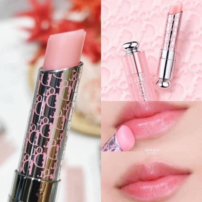 Son Dưỡng Dior Addict Lip Glow 001 Pink Diormania Limited Edition có thiết kế khác biệt