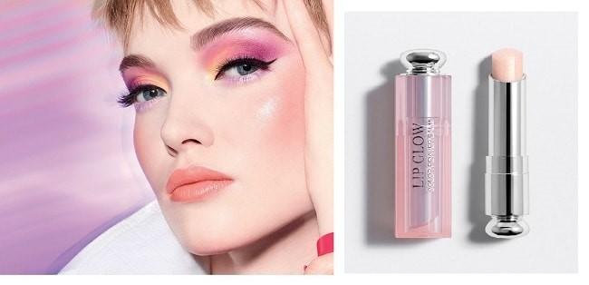 Dior Lip Glow - Glow Vibes Limited-Edition 003 Pearl hồng ánh kim tinh tế