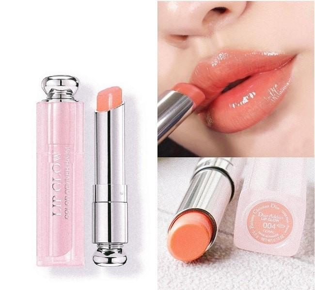 Son dưỡng Dior Addict Lip Glow 004 Coral cam san hô trẻ trung