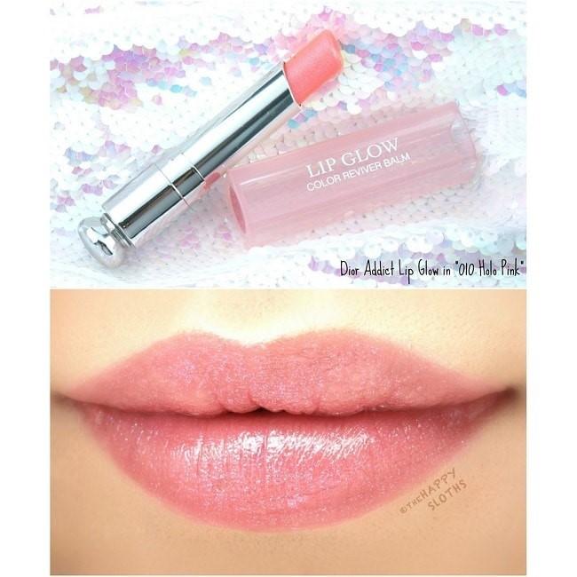 Dior Addict Lip Glow 010 Holo Pink hồng nude lấp lánh