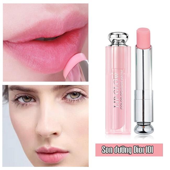Dior Addict Lip Glow 101 Matte Pink cho lớp finish lì nhưng không khô