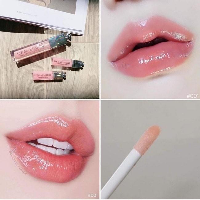 Dior Lip Maximizer 001 Pink cho hiệu ứng môi căng mọng