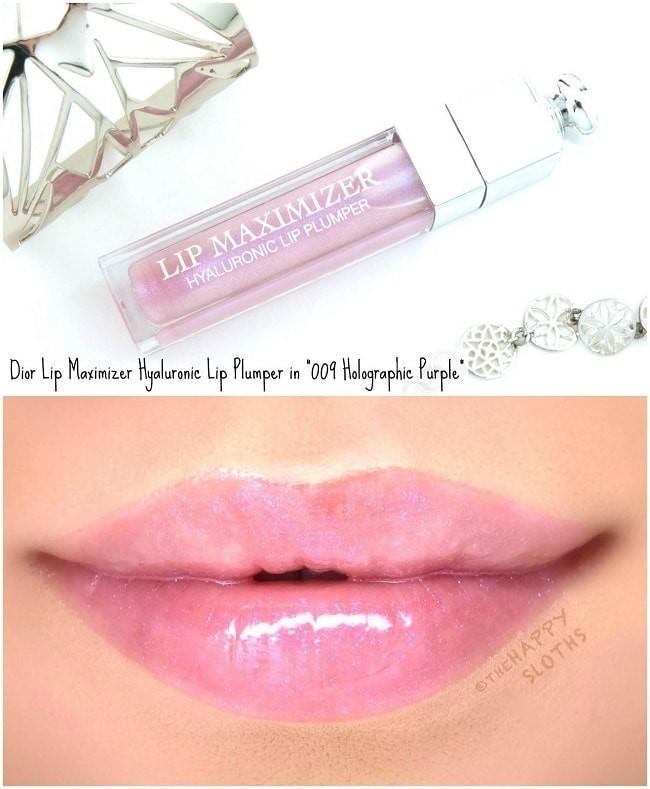 Dior Lip Maximizer 009 Holo Purple vừa đủ để bạn nổi bật