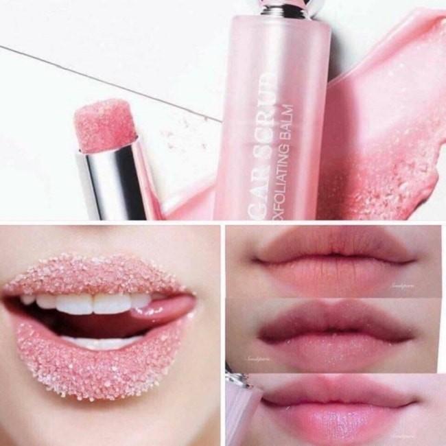 Bảng màu son dưỡng tẩy tế bào chết môi Dior Lip Sugar Scrub