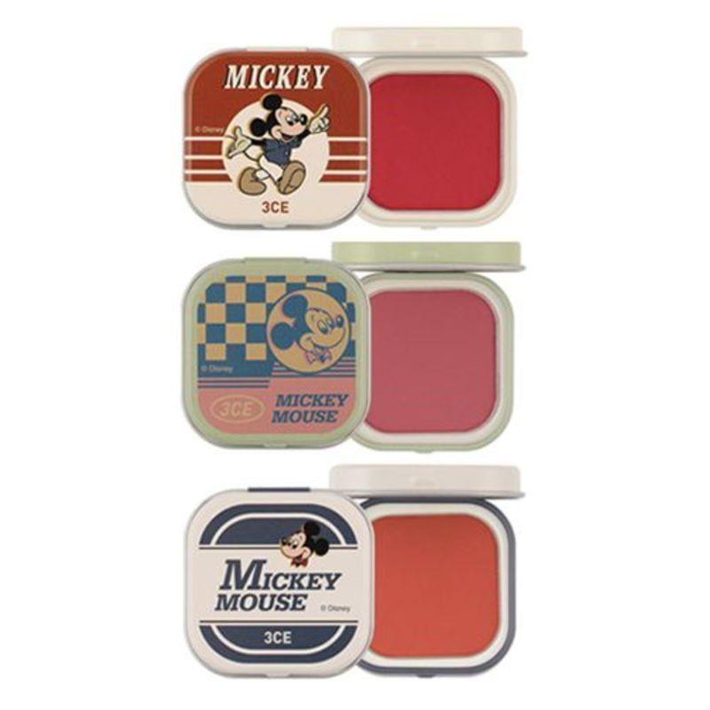 Thiết kế son 3CE Mickey mới gợi nhớ về quá khứ xưa