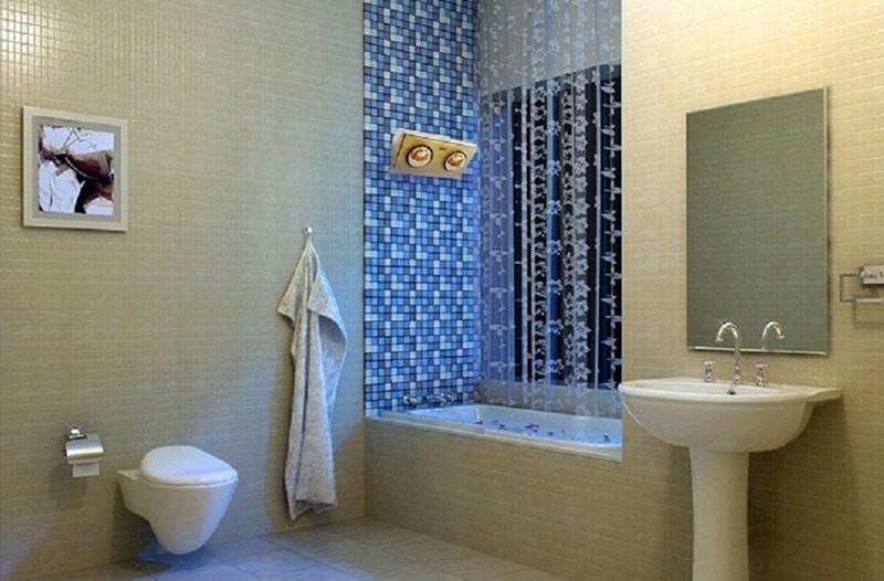 Đèn sưởi hồng ngoại trong nhà tắm