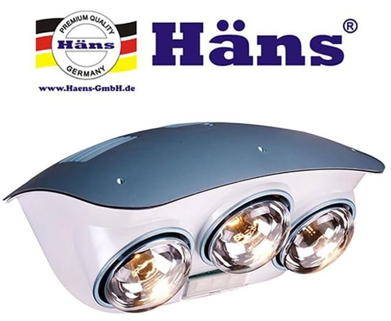 Đèn sưởi nhà tắm Hans chính hãng
