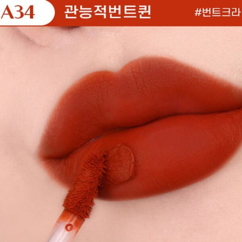 Son Black Rouge Ver 7 màu A34 - Sensual Queen of Burnt (Cam gạch)