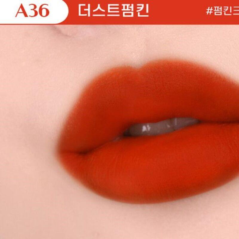 Son Black Rouge Ver 7 màu A36 - Dust Pumpkin (Cam pha nâu)