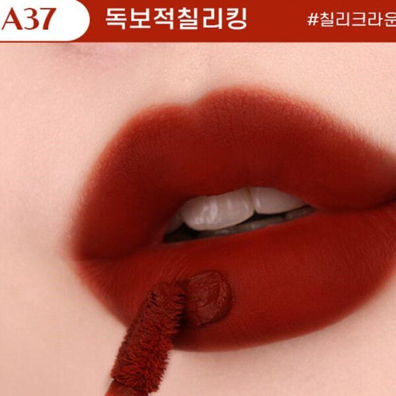 Son Black Rouge Ver 7 màu A37 - Unrivaled Chili King (Đỏ nâu đất)