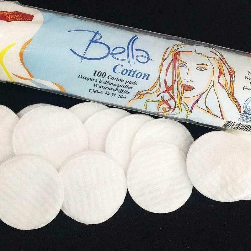bông tẩy trang Bella 80 miếng
