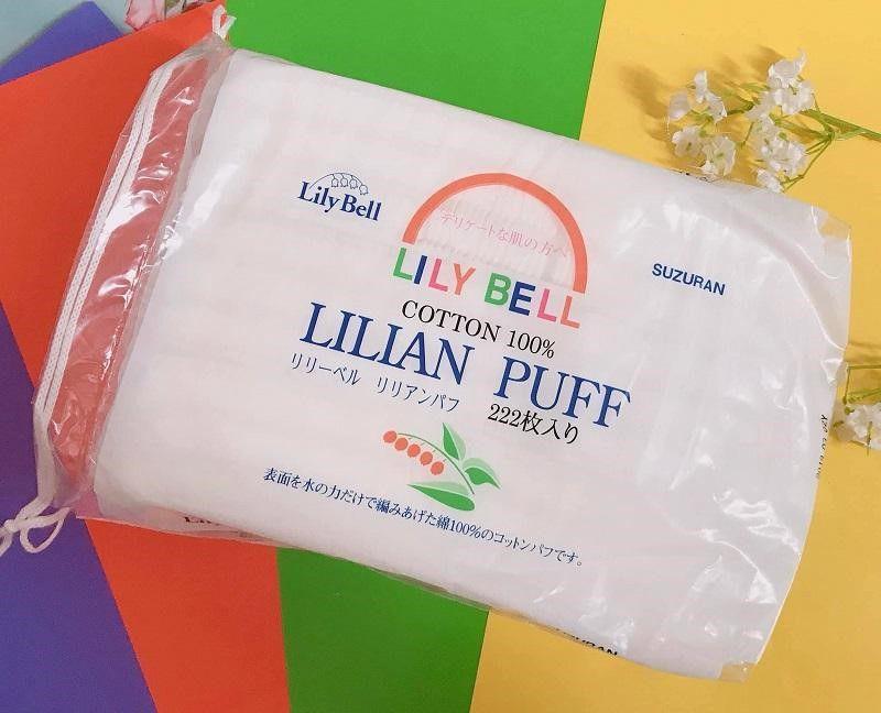 Bông tẩy trang Lily Bell