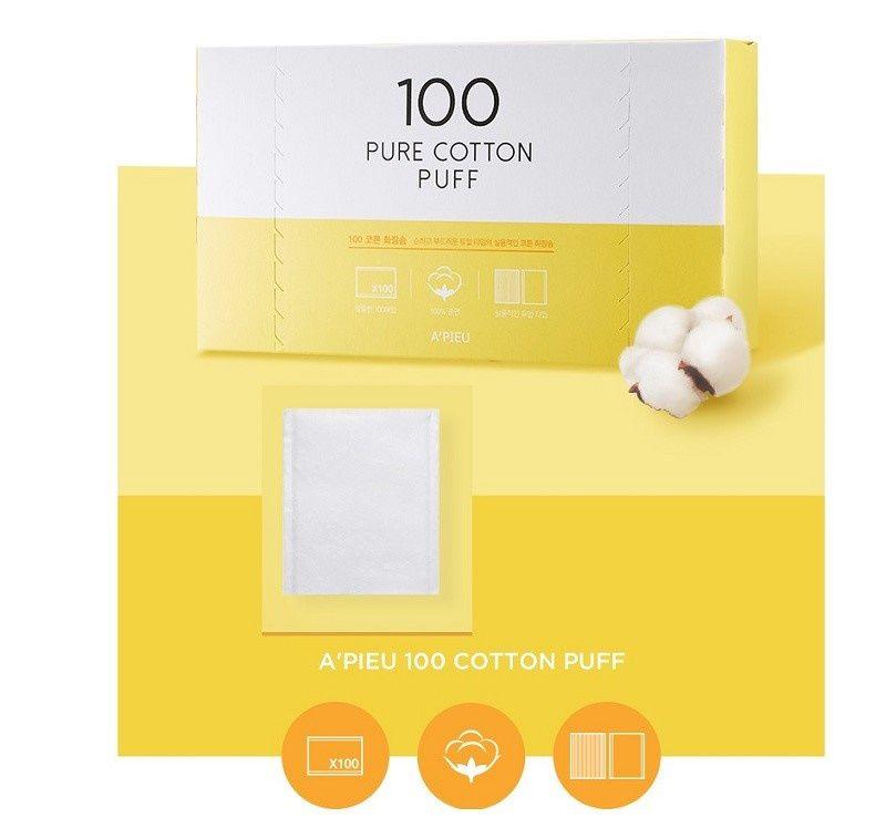 Bông tẩy trang Pure Cotton Puff