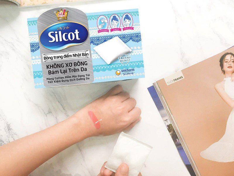 Bông tẩy trang Silcot 66 - 82 miếng/hộp