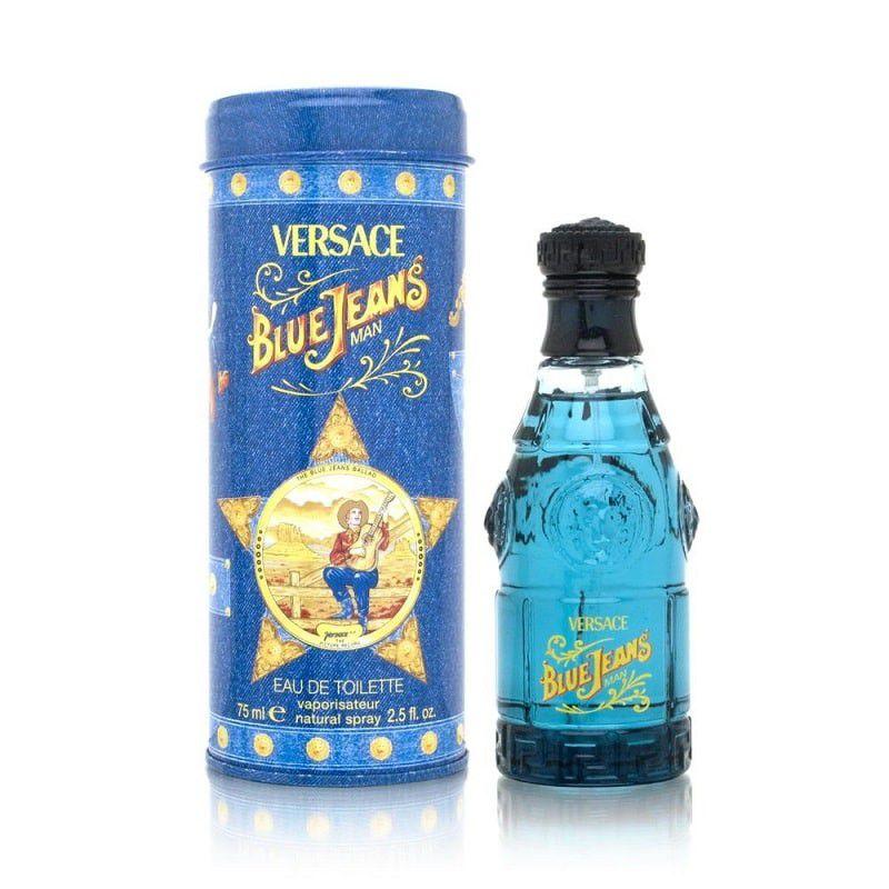 Nước hoa Pháp Blue Jeans by Gianni Versace for Men, Eau De Toilette Spray cho nam