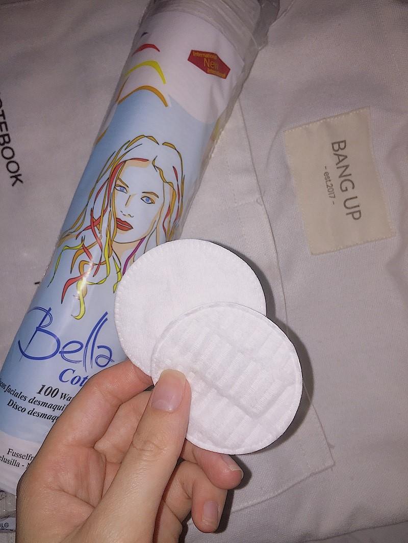 bông tẩy trang Bella có tốt không