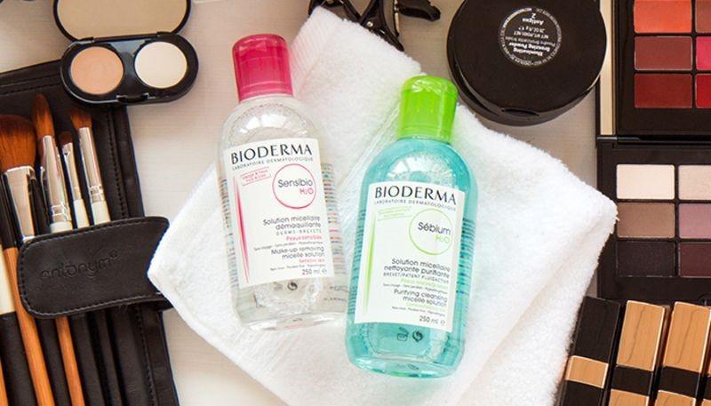 Công dụng của nước tẩy trang Bioderma